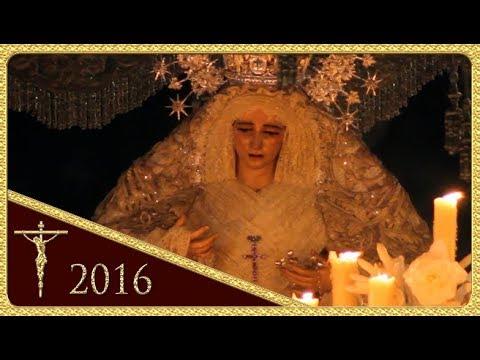Virgen de la Paz por Puerta de Jerez - Hermandad de la Paz (Semana Santa Sevilla 2016)