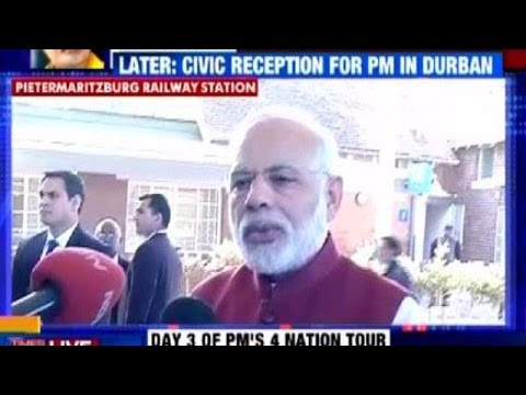 South Africa Visit is Like 'Tirth Yatra' Says PM Modi