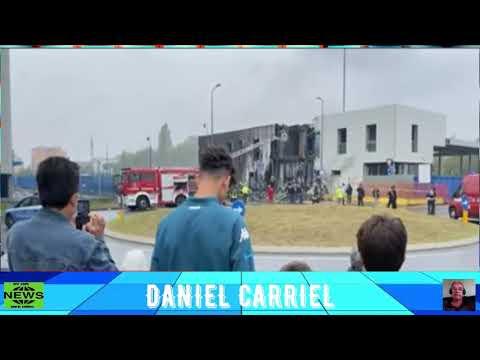 URGENTE: Avião cai sobre prédio nos arredores de Milão, na Itália, e deixa oito mortos