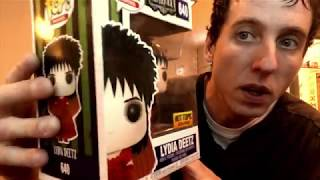 FUNKO POP Hot Topic Exclusive Beetlejuice Lydia Deetz & Beetlejuice review