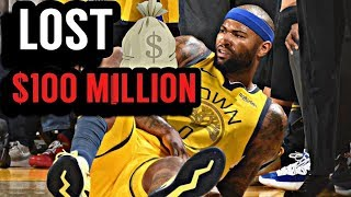 How Unfortunate Injuries Cost DeMarcus Cousins over $100 Million