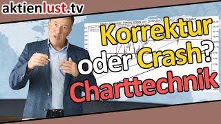 ABC-, V-Korrektur oder Baisse? | DAX, Dow, Nasdaq im Crashtest | aktienlust | Jürgen Schmitt
