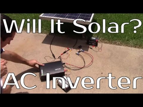 Will It Solar? - AC Power Inverter