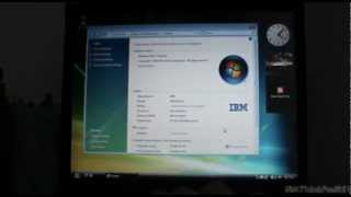Windows Vista Ultimate On The IBM ThinkPad R51
