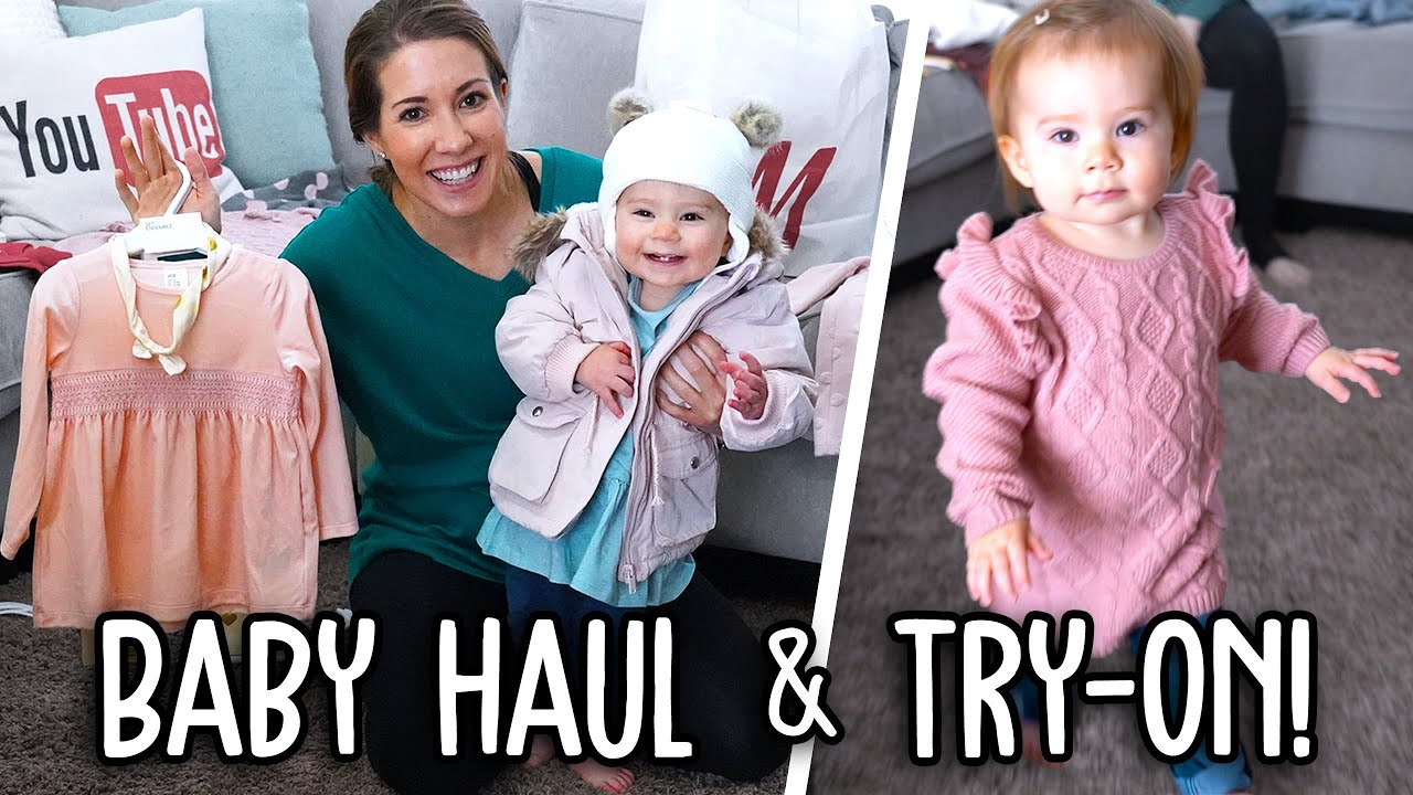 [VIDEO] - Baby Micah's Winter Clothing Haul & Try-On Fashion Show! 2