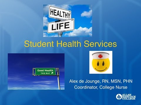 Student Health Services Video 09 2016