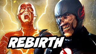 The Flash Season 4  Flash Rebirth Preview and Comic Explained