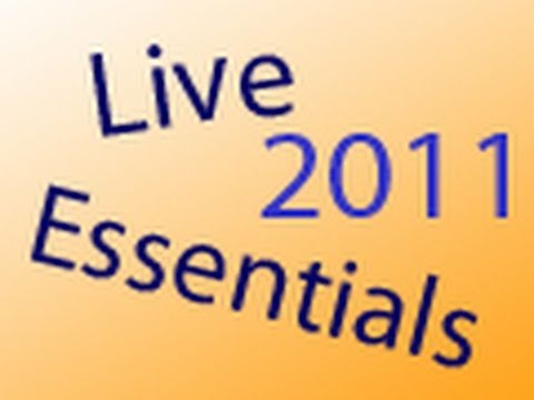 Neu in den Windows Live Essentials 2011
