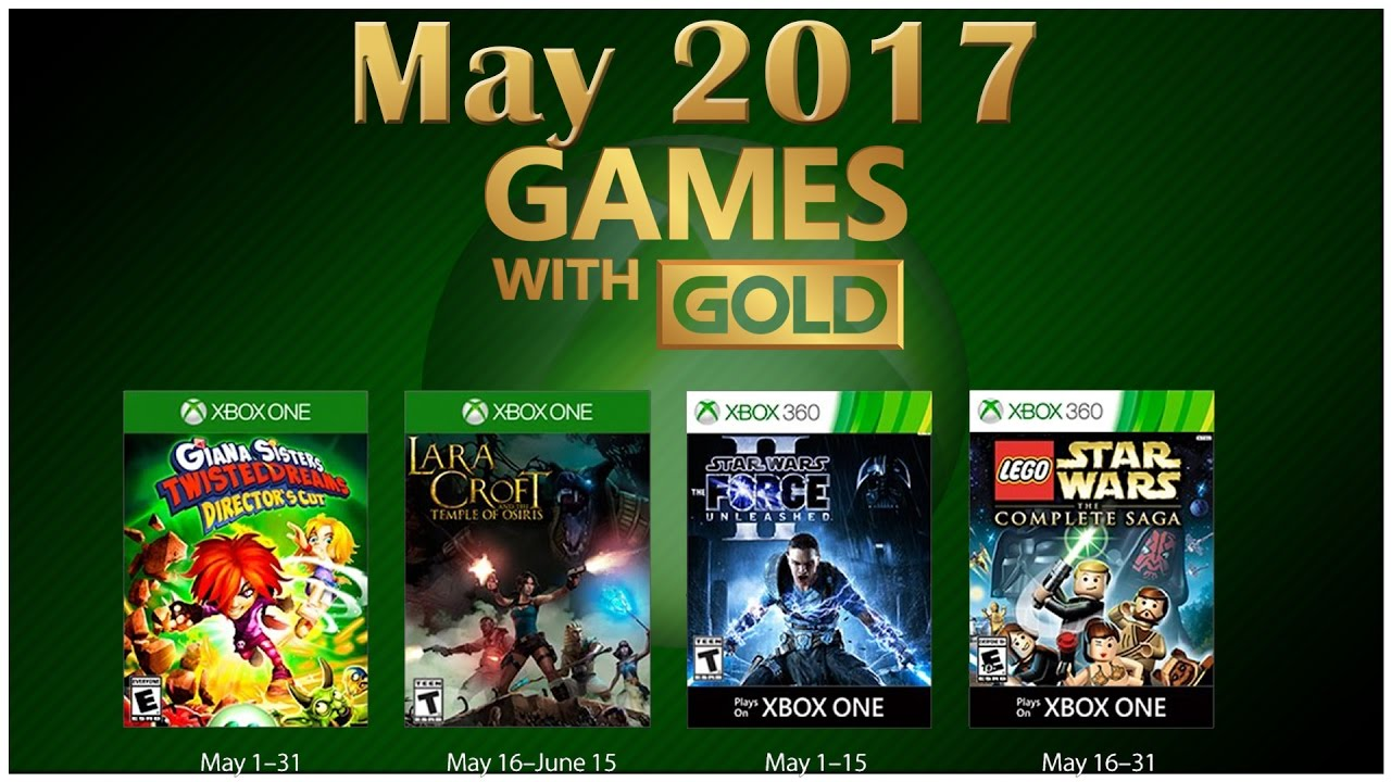 Xbox Live Games With Gold May 2017 Youtube