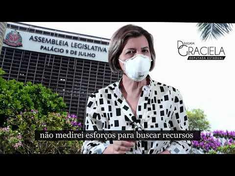 Retorno das atividades na Alesp - Mensagem da deputada estadual Delegada Graciela