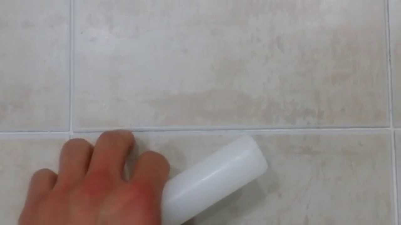 Life Hack: Clever Way To Keep Bathroom Tiles Clean   YouTube