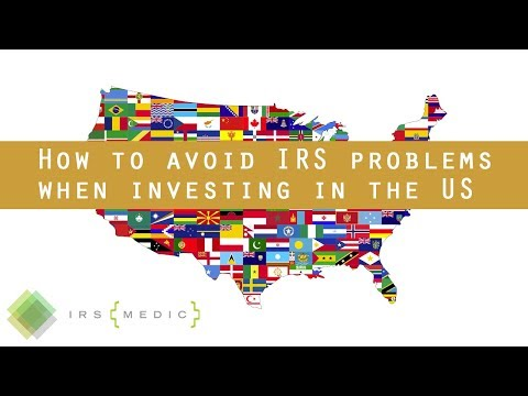 Taxation of Foreign Investment in the US and IRS Form 5472