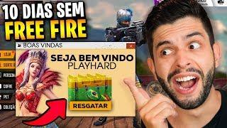 ESQUECI COMO JOGA?!? 10 DIAS SEM ABRIR O FREE FIRE E TIVE UMA SURPRESA!!!