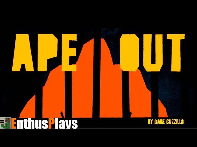 Ape Out (Switch) - EnthusPlays | GameEnthus #ApeOut