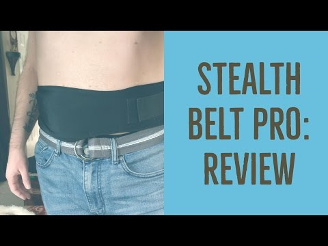 Stealth Belt Pro: Review (Ostomy Support Garment)