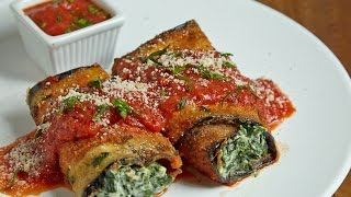 The Best Eggplant Roll Ups Recipe