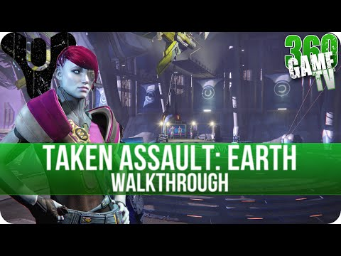 Destiny The Taken King - Taken Assault Earth Walkthrough - How to get the Quest Item (Curios Object)