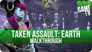 Destiny Taken Assault Earth Walkthrough - How to get the Quest Item (Curios Object) - The Taken King