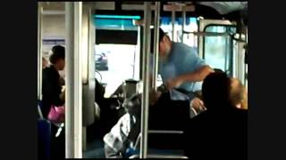AC Transit Bus Fight Narrated With Subtitles!