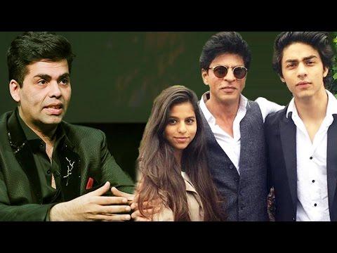 Karan Johar DIVIDES His Property Between Shahrukh's Kids Aryan & Suhana?