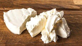 Сыр Филадельфия САМЫЙ БЫСТРЫЙ И ПРОСТОЙ РЕЦЕПТ домашнего сливочного сыра