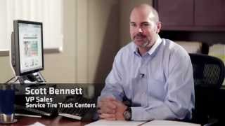 Service Tire Truck Centers Uses Telenotes