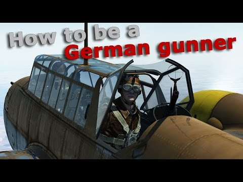⚜ | 15 Minutes on How To Be A German Gunner [Bf 110 Edition]