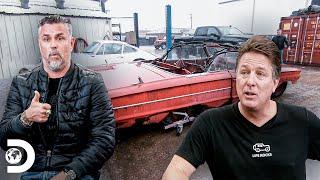 Richard se enoja con su socio por un Ford Galaxie | El Dúo mecánico | Discovery Latinoamérica