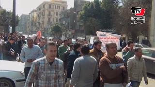 حملة المجاستير تنظم مسيرة لـ«النواب»: أنا دكتوراه عاطل