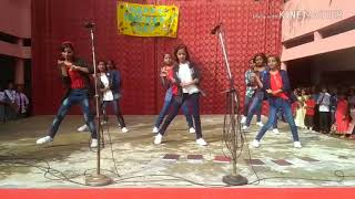 Dance performance at teacher day by St Michael Convent School students