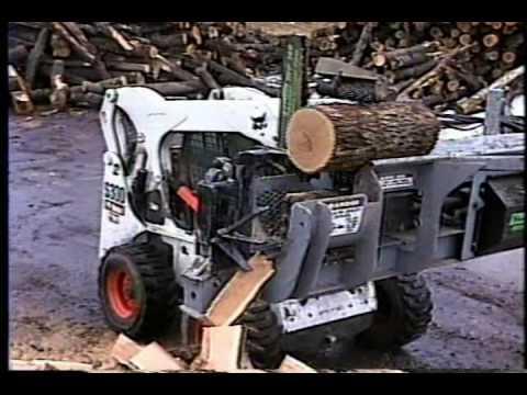 Bobcat Wood Splitter Doovi