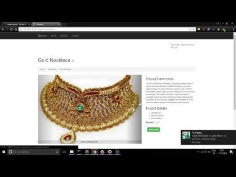 Online Jewellery Shop Demo (Django)