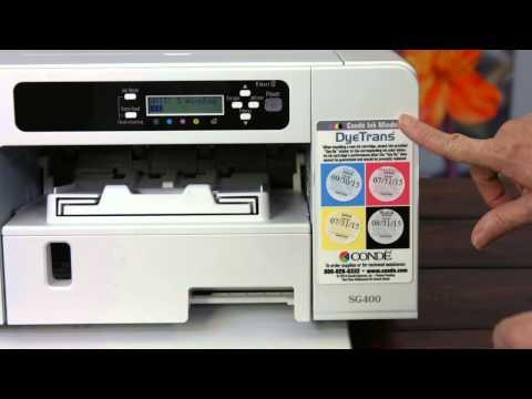 Sawgrass Virtuoso SG400 Dye Sublimation Printer Evaluation