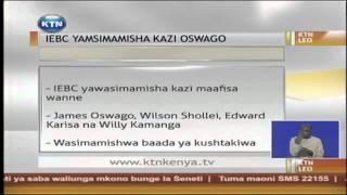 IEBC yamwachisha kazi Oswago