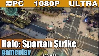 Halo: Spartan Strike gameplay HD - Action Shooter - [PC - 1080p]