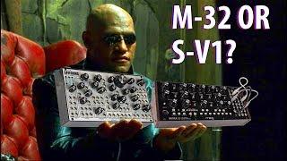 SYNTH VS SYNTH -- Moog Mother 32 or Pittsburgh Modular Lifeforms SV-1?