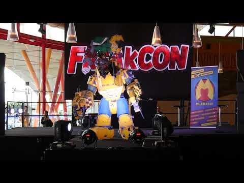 Freakcon 2020 - concurso cosplay - Warhammer 40000 (mejor armadura) - 동영상