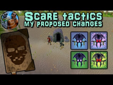 Make Scare tactic abilities useful - My proposed changes