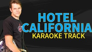 The Eagles Hotel California Karaoke - Vocal Backing Track With Lyrics