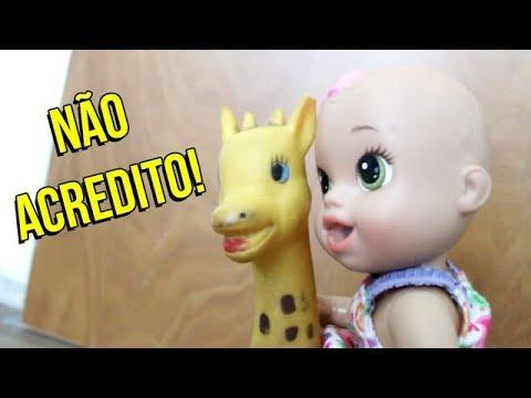 BABY ALIVE VIU UMA COISA ESTRANHA - #JOHNNYFAZ 06 - YouTube