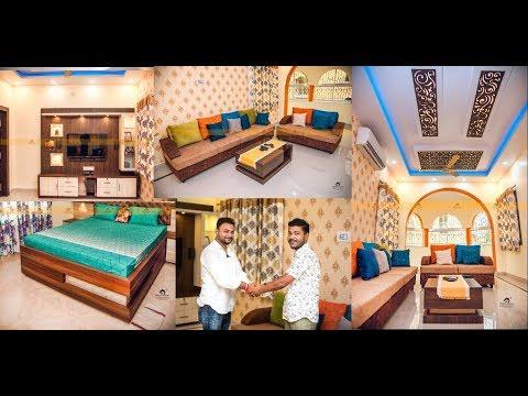 [ Part-2] Full House Tour Video   2BHK House Interior Design 2019   Interior Jagat