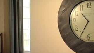 Williston 29 5 In  Reclaimed Rustic Oversized Wall Clock - Product Review Video