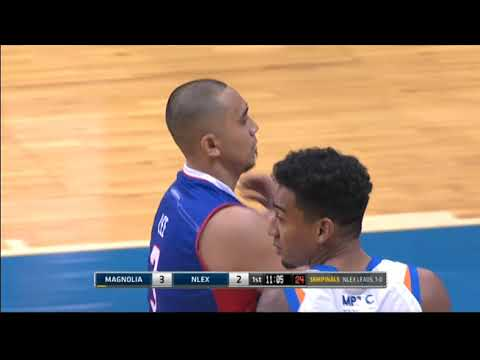 PBA 2018 Philippine Cup: NLEX vs. Magnolia Mar. 12, 2018