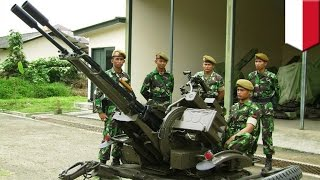 Chinese made cannon breaks, kills 4 Indonesian soldiers during South China Sea exercise   TomoNews