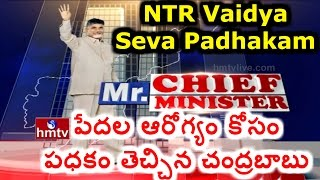 Mr Chief Minister | AP CM Chandrababu Naidu 'NTR Vaidya Seva' Scheme | HMTV Special