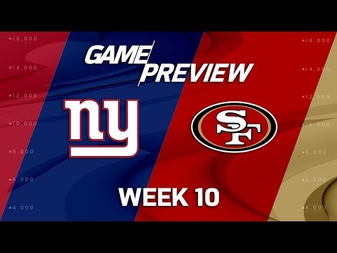 New York Giants vs. San Francisco 49ers | NFL Week 10 Game Preview