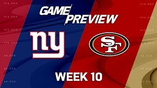 New York Giants vs. San Francisco 49ers   NFL Week 10 Game Preview