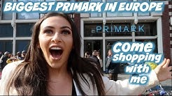 BIGGEST PRIMARK IN EUROPE: COME SHOPPING WITH ME