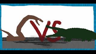 Pivot Battle Arena: Deinosuchus VS Titanoboa