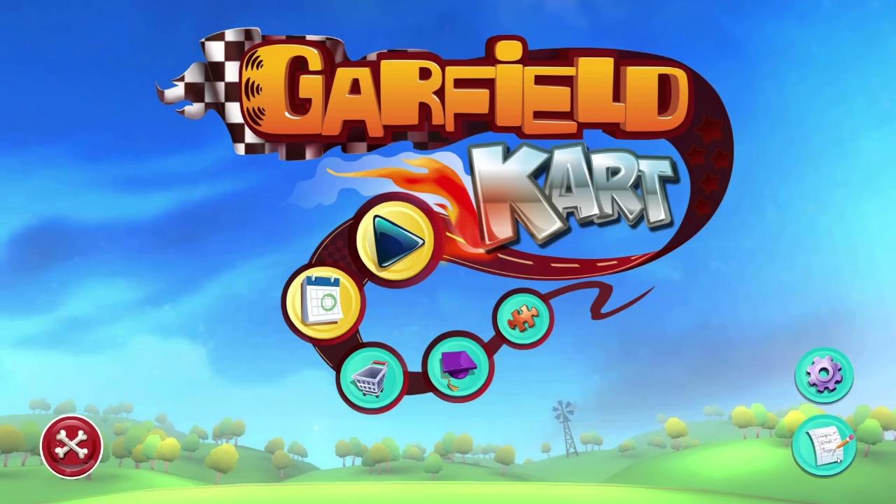 Garfield Kart All 16 Tracks In 150cc Gp Youtube